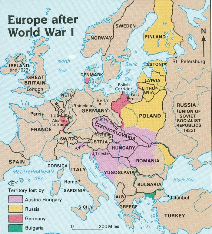 europe-after-wwi-shaded-lost-territories